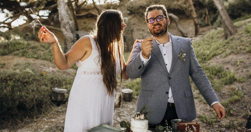 areias do seixo romantic elopement
